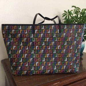 Authentic Fendi Multicolor Tote